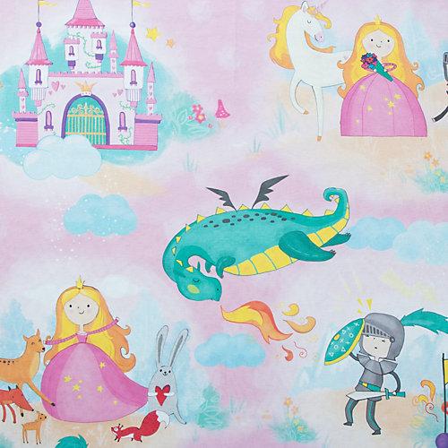 """Комплект постельного белья Этель """"История милой принцессы"""", 1.5 спальный - голубой"""