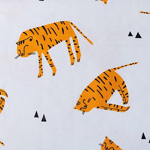 """Штора Этель """"Тигры"""" 145х260 см - белый от Этель"""