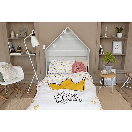 Комплект постельного белья Этель Little queen, 1.5 спальный - розовый