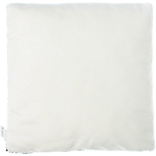 Чехол декоративный с пайетками Этель WOW, 40х40 см - белый от Этель