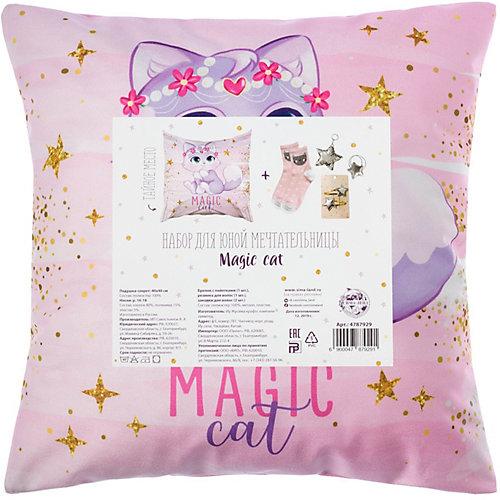 Набор подарочный Этель Magic cat - розовый от Этель