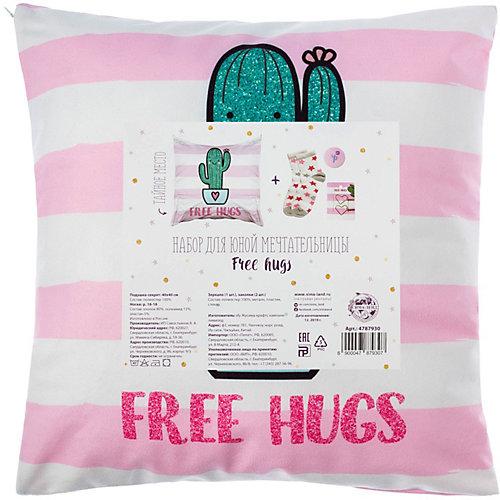 Набор подарочный Этель Free hugs - зеленый от Этель