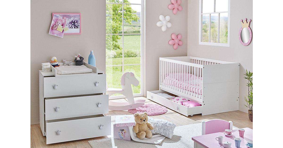 Image of Babyzimmer Paula 2-teilig Weiß weiß