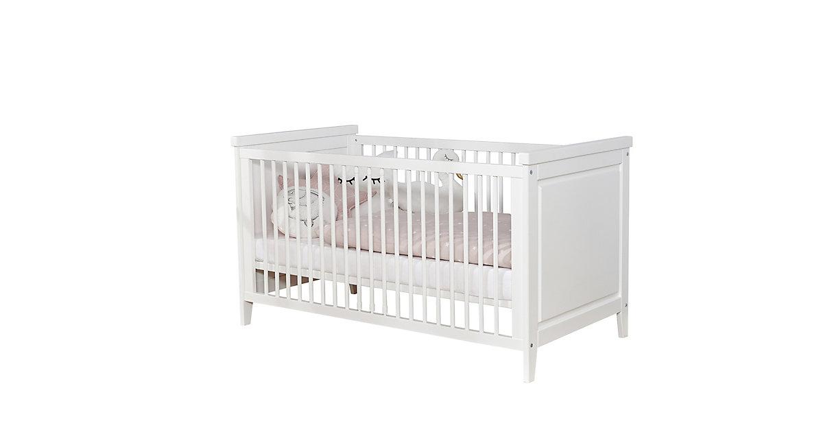 Image of Babyzimmer Morgenroth 5-teilig Massivholz Weiß weiß