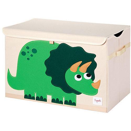 Сундук для хранения игрушек 3 Sprouts Динозавр, зелёный - зеленый от 3 Sprouts