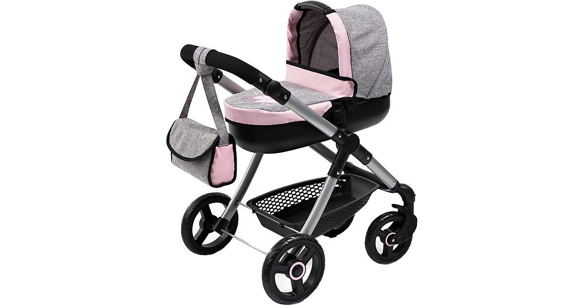 Puppenwagen Style, grau/rosa
