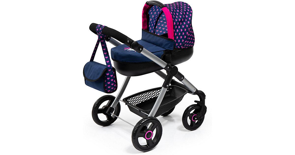 Puppenwagen Style, blau/Einhorn