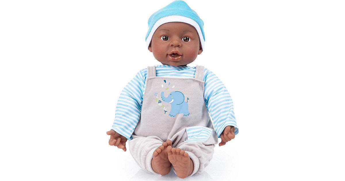 Interactive Baby Boy 40 cm blau/grau