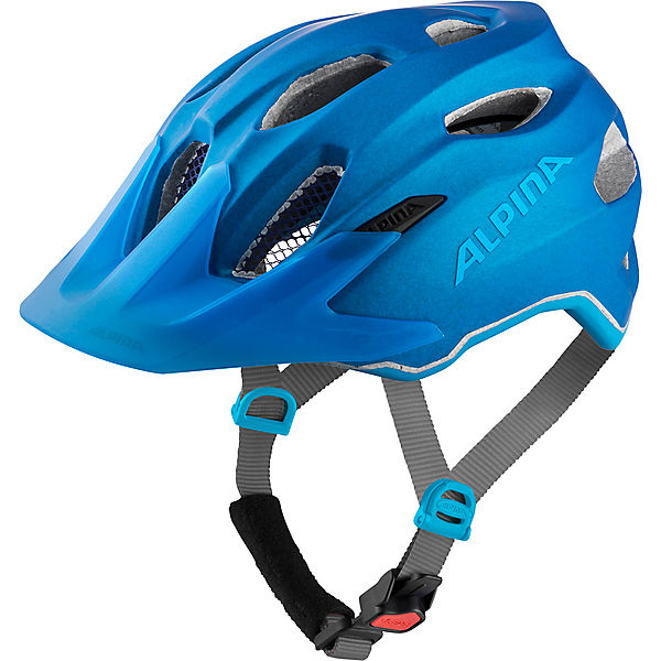 Fahrradhelm CARAPAX JR. FLASH true-blue matt 51-56