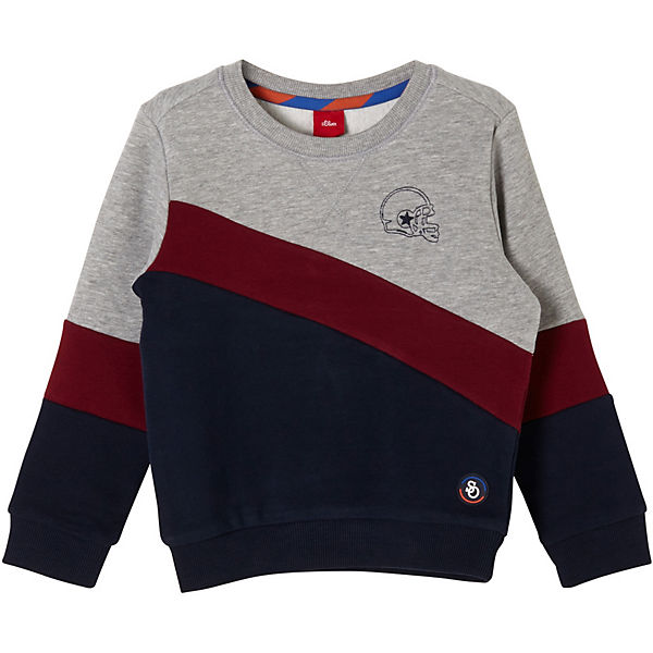 Softes Colourblocking-Sweatshirt Sweatshirts für Jungen