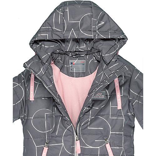 Утеплённая куртка Nikastyle - графит