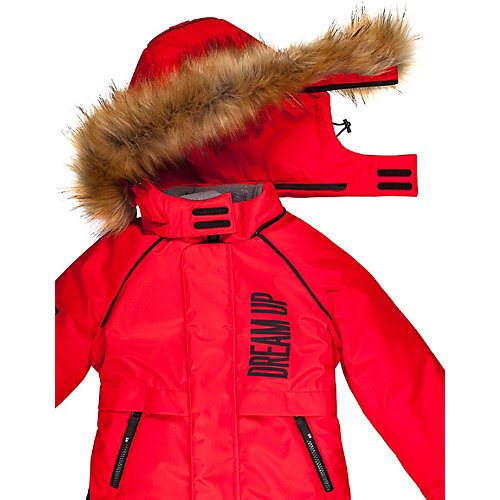 Утеплённый комбинезон Nikastyle - красный от Nikastyle