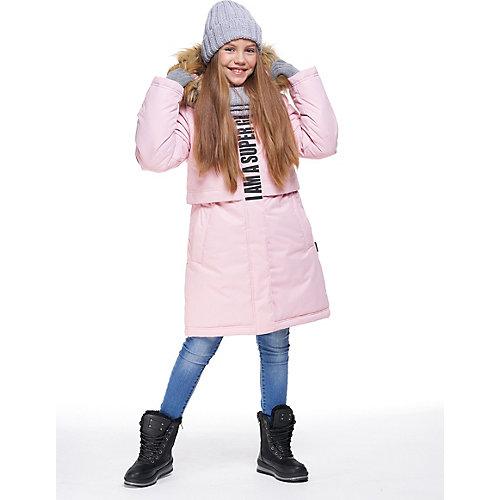 Утеплённая куртка Nikastyle - светло-розовый