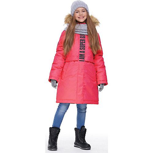 Утеплённая куртка Nikastyle - неоновый розовый