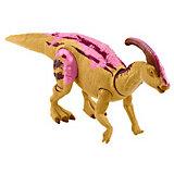 """Фигурка динозавра Jurrasic World Primal Attack """"Рычащие динозавры"""" Паразауролоф"""
