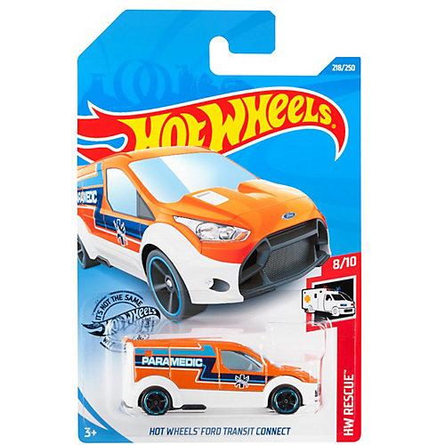 Базовая машинка Hot Wheels Ford Transit Connect от Mattel