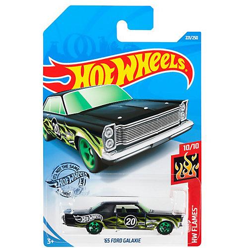 Базовая машинка Hot Wheels 65 Ford Galaxie от Mattel