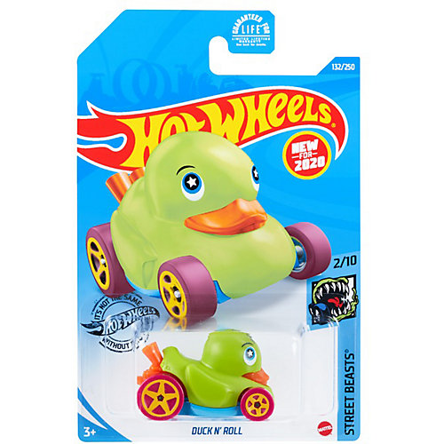 Базовая машинка Hot Wheels Duck N' Roll от Mattel