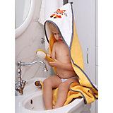 Полотенце для купания Uviton Little Fox 90х90 см, жёлтое