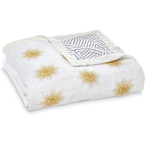Одеяло из бамбука Aden Anais Golden sun 120х120 см от aden+anais