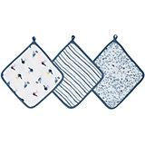 Набор полотенец для лица и рук Aden Anais Seashore, 3 шт