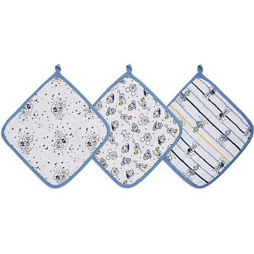 Набор полотенец для лица и рук Aden Anais Mickey, 3 шт от aden+anais