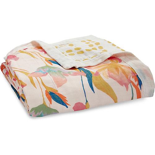 Одеяло из бамбука Aden Anais Marine gardens 120х120 см от aden+anais