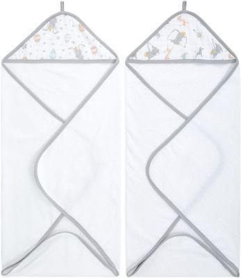 Набор полотенец с уголком Aden Anais Dumbo 76x76 см, 2 шт