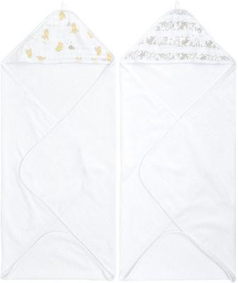 Набор полотенец с уголком Aden Anais Winnie 76x76 см, 2 шт