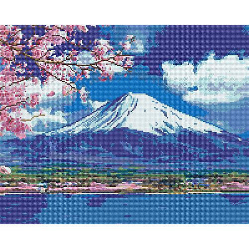 "Алмазная мозаика Фрея ""Священная гора Фудзи"", 40х50 см от Фрея"