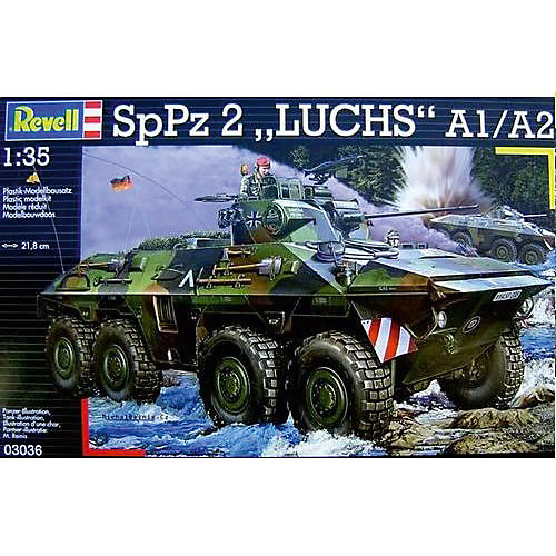 Военная машина Luchs A1/A2 от Revell