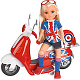 Игровой набор Famosa Нэнси на мотоцикле в Лондон