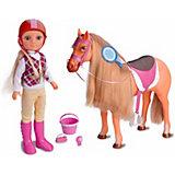 Игровой набор Famosa Нэнси с лошадкой
