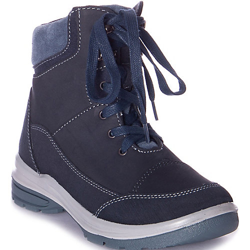 Утеплённые ботинки Котофей - синий от Котофей