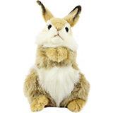 Мягкая игрушка Hansa Коричневый кролик, 24 см