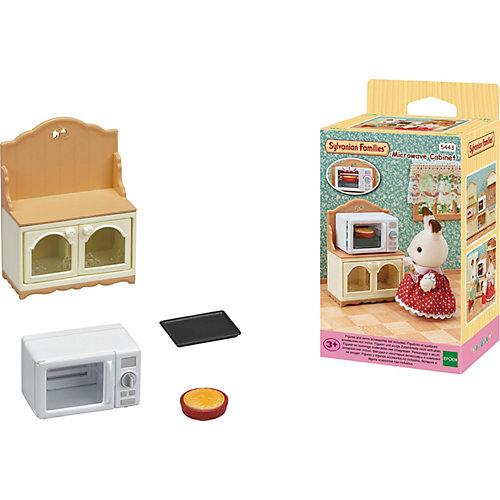 Игровой Игровой наборр Sylvanian Families Шкаф с микроволновой печью от Эпоха Чудес