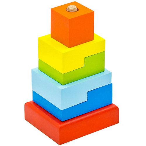Пирамидка Alatoys « Ступеньки, 6 деталей от Alatoys