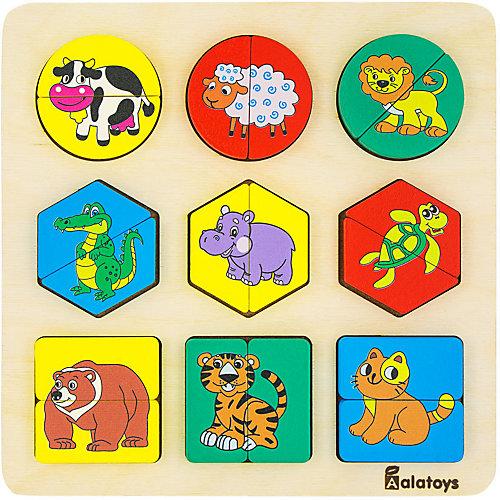 Сортер Alatoys Животные, 18 элементов от Alatoys