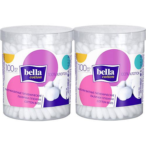 Ватные палочки Bella, 2х100 шт