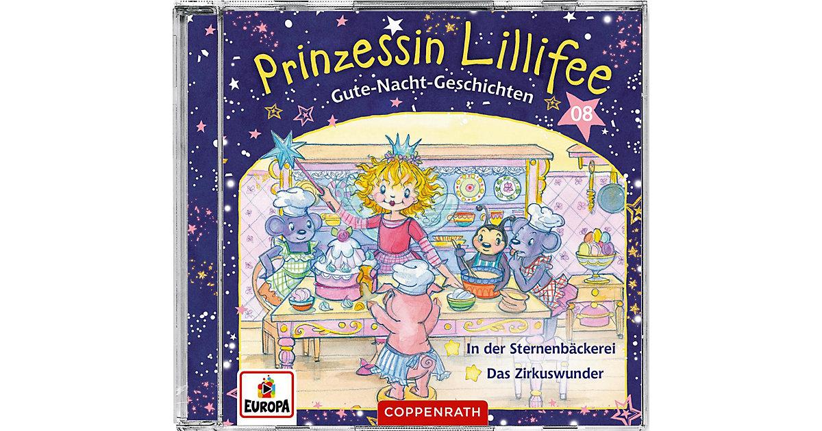 CD Prinzessin Lillifee - Gute-Nacht-Geschichten 8 Hörbuch