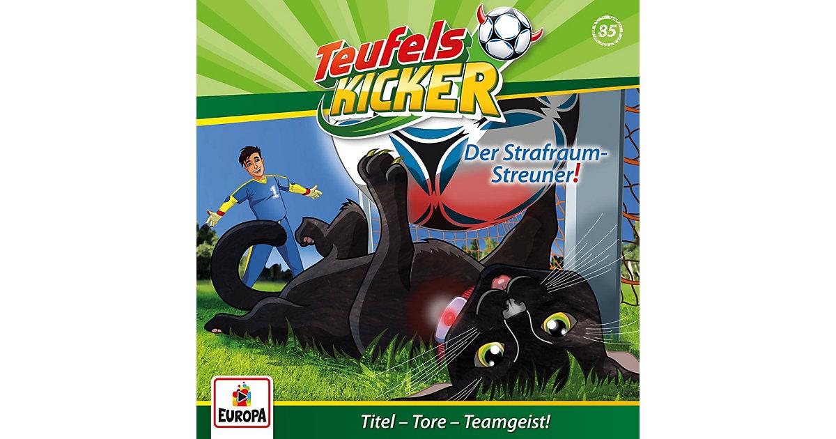 CD Die Teufelskicker 85 - Der Strafraum-Streuner! Hörbuch