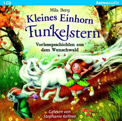 CD Kleines Einhorn Funkelstern – Vorlesegeschichten, 1 Audio-CD Hörbuch