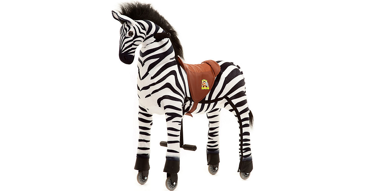 Reittier Zebra Marthi auf Rollen, Medium/Large