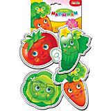 Мягкие пазлы Дрофа-Медиа Овощи