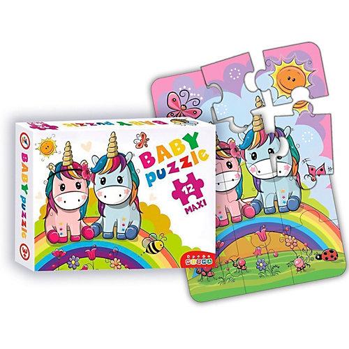 Развивающая игра Baby Puzzle Радужные единороги от Дрофа-Медиа