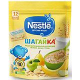 Молочная каша Nestle Шагайка мультизлаковая, яблоко, банан, груша, с 12 мес, 200 г