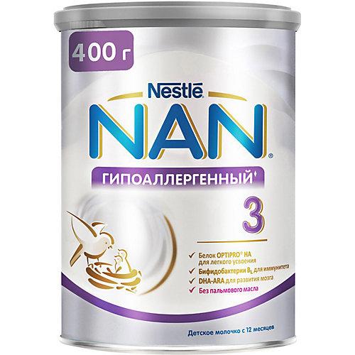 Молочный напиток Nestle NAN гипоаллергенный 3, с 12 мес, 400 г от Nestle