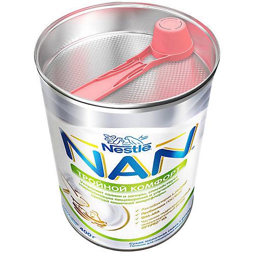 Молочная смесь Nestle NAN тройной комфорт, с 0 мес, 400 г от Nestle