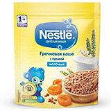 Молочная каша Nestle гречневая с курагой, с 5 мес, 220 г
