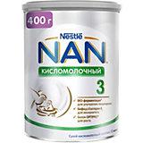Молочный напиток Nestle NAN кисломолочный 3, с 12 мес, 400 г